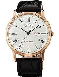 "Orient ""Capital 2"" Classic diseño cuarzo romano Dial Vestido reloj ug1r006W"