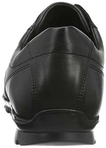 Fretz Men Oristano, Baskets Basses Homme Noir - Schwarz (51 Noir)