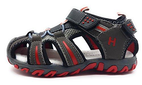 GOMEZ , Jungen Sport- & Outdoor Sandalen schwarz Schwarz 22 Schwarz