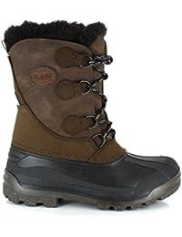Olang - botas de nieve unisex, color rojo, talla 29/30