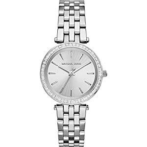 Michael Kors Damen-Uhren Rund Analog Quarz Edelstahl 32002765