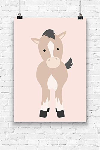 Print kleines Pferd Format A4 ohne Rahmen