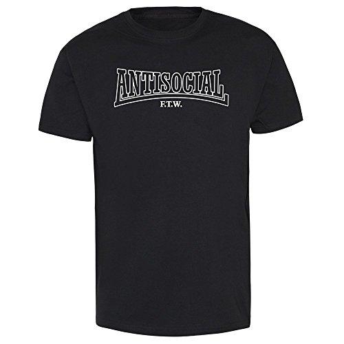 "Antisocial ""F.T.W."" T-Shirt Schwarz"