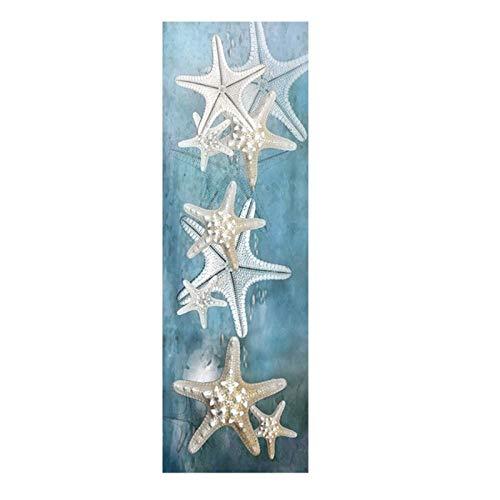 Ywsen Leinwand Kunst Abstrakte Stillleben Seestern Sand Dollar Seascape Ölgemälde Moderne Landschaft Wandbild Poster Für Wohnzimmer Room60X180cm Ungerahmt (Sand-dollar-kunst)