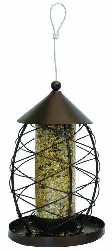 Rosewood Palissandro antico lanterna mangiatoia per uccelli selvatici
