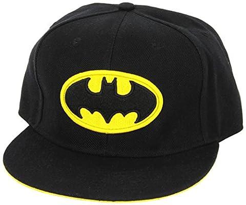 DC Comics Batman Logo Black Snapback