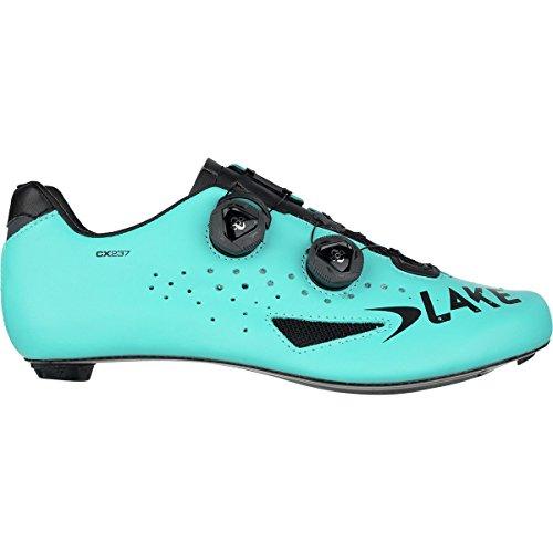 Lake CX237, Scarpa Ciclismo Unisex - Adulto, Blu/Nero, 47
