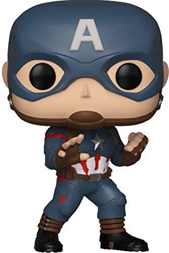 Funko- Marvel Pop Capitán América Edición Especial, (FK36676)