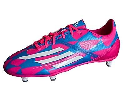 Scarpe Da Calcio Rosa E Azzurre