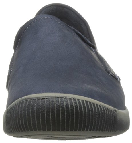 Softinos Ita Washed, Mocassins femme Bleu - Blau (navy 000)