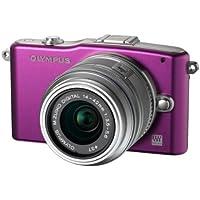 Olympus Pen E-PM1 Compact System Camera - Purple (includes M.ZUIKO Digital 14 -42mm II R Lens)