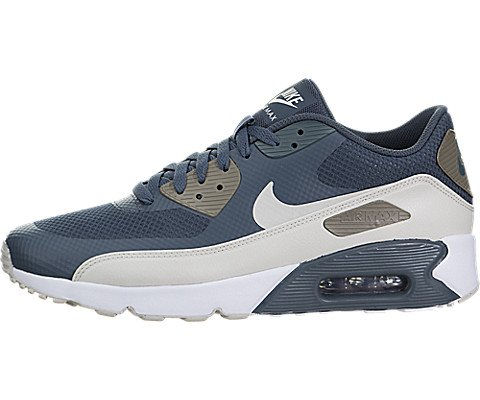 Nike Herren Air Max 90 Ultra 2.0 Essential Turnschuhe, Blau (Blue Fox/Light Bone/Dark Mushroom/White), 43 EU