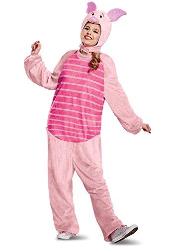 Winnie the Pooh Piglet Deluxe Adult Fancy Dress Costume Large/X-Large (Kostüme Pooh Winnie Erwachsene)