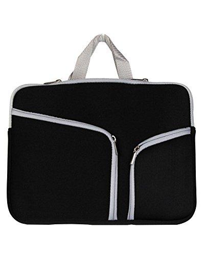 Laptop Tasche/Aktentasche für Laptop/Hülle Tasche Laptophülle Notebooktasche Schutzhülle für Apple Mac Book/ipad/Lenovo/Dell/Samsung/Asus/Acer/Hp 10zoll Schwarz (Tablet 10 Pulgadas Dell)