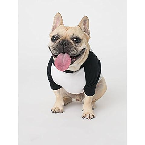 American Apparel - Maglietta per Cani con Manica a 3/4