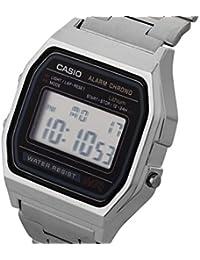 Casio Herren-Armbanduhr Digital edelstahl Silber A158WA