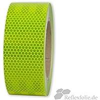 lfm x 100mm 3M™ Reflexband Reflektorband Reflexfolie RA1 weiß selbstklebend