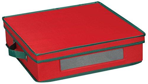 Household Essentials Aufbewahrungsbox rot -