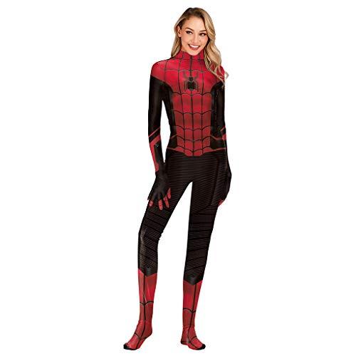 Mann Starker Für Kleinkind Kostüm - Yujingc Spiderman Cosplay Kostüm Overalls für Frauen Mann Held Kostüm Kleidung Superheld Spider-Man Weihnachten Halloween Show Body,A,M