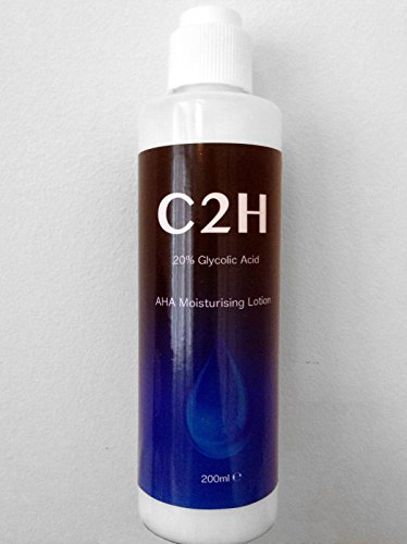 Glycolic Acid 20% Body and Face Moisturising Cream Peel 200ml AHA Alpha Hydroxy Acids
