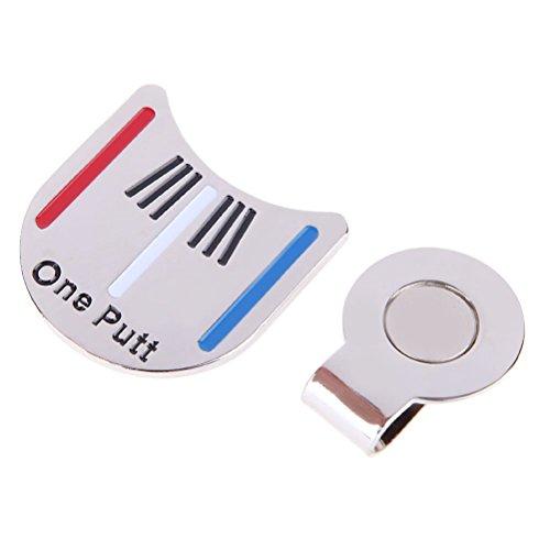 Preisvergleich Produktbild LEORX Golf Hat Golf Ball Clipmarke - Golf-Ausrichtung mit dem Ziel Tool