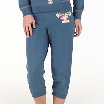 Board Angels Pantalon de Jogging Découpé Coco Loco Femme Bleu Copen 42