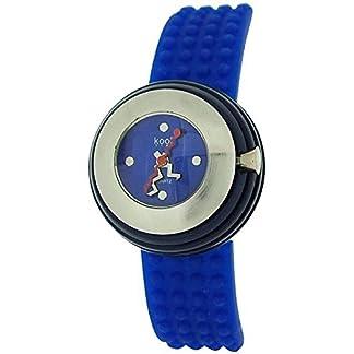 Eton KT14Blue – Reloj para mujeres, correa de silicona color azul