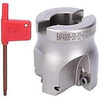 FTVOGUE TAP400R-63-22-4T Fresa de acero de alto carbono Fresa de ángulo recto de 90 grados