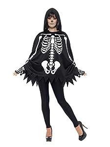 Smiffys 47600 - Kit de esqueleto unisex, color negro (talla única)