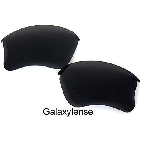 Galaxylense lentes de repuesto para Oakley Flak Jacket XLJ Iridio Color Negro