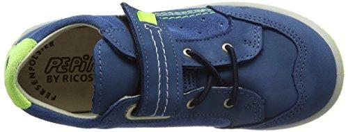 Ricosta Jamie, Sneaker a Collo Basso Bambino Blu (Petrol 141)