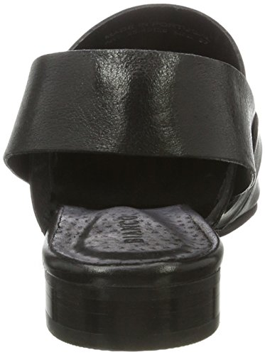 Bianco Open Slingback Shoe Jfm17, Mocassins Femme Noir