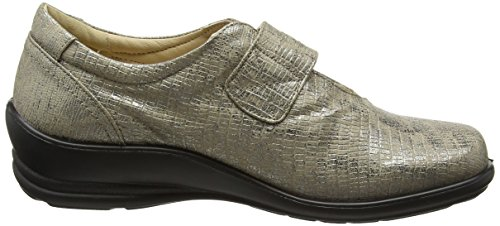 Padders - Simone 2, Mary Jane Donna Silver (Metallic)