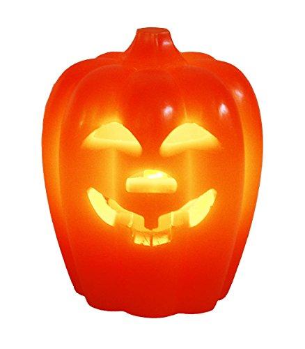 HAAC Led Kürbis Kerze Halloween Größe 10,5 cm -