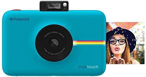 Polaroid-Schnappschuss-Sofortdruck-Digitalkamera mit LCD-Display (Blau) mit Zink Zero Ink Drucktechnologie Bluetooth-digital Digital-kamera