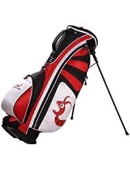 Sac de Golf Trépied Woodworm Golf Premium en Rouge