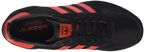 Adidas Zx Racer, Scarpe Sportive Unisexe Nero (noyau Noir / Rouge / Ftwr Blanc)