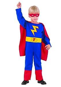 FIORI PAOLO-Super Hero disfraz niño S (3-4 anni) rojo