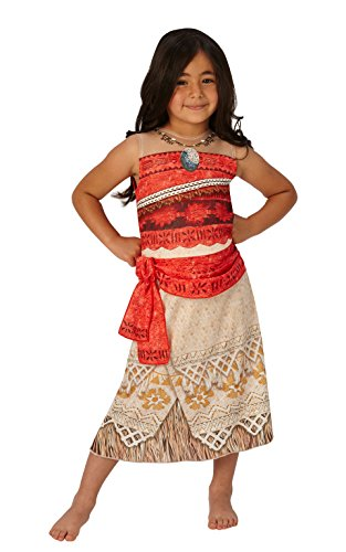 Moana - Disney Princess - Disfraces de Niño Disfraz - Grande - 128cm - Edad 7-8