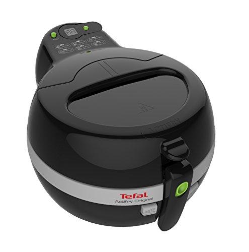 Tefal Actifry Original Snaking FZ7118 - Freidoras Actifry para hasta 1 kg de capacidad, con cocción homogénea, partes extraíbles aptas para lavavajillas, incluye accesorio snaking