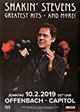 TheConcertPoster Shakin` Stevens - Greatest Hits, Offenbach