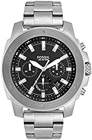 FOSSIL MENS MEGA MACHINE STAINLESS STEEL WATCH - FS5716