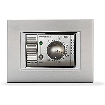 Fantini cosmi c48c termostato ambiente da incasso con for Fantini cosmi ch115