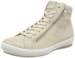 Legero Damen Tanaro Hohe Sneaker, Beige (Corda), 41 EU  (7 UK)