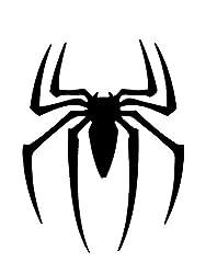 Schablone Marvel Spiderman-Symbol, Wanddekoration, Mylar, DIN A4, wiederverwendbar, 190Mikron.