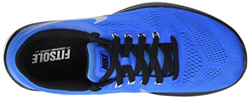 Nike Flex 2016 Rn, Écharpe De Corsa Uomo Blu (bleu Pht / Mtllc Slvr-blk-blanc)