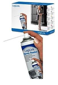 LogiLink RP0001 Spray nettoyant pour Clavier/Imprimante/TV 400 ml