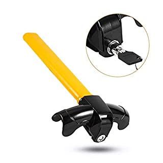 XFORT® Steering Lock, Universal Steering Wheel Lock for Cars, T-Bar Steering Wheel Immobiliser, Deter Thieves and Secure Your Car.