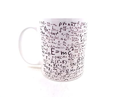 E=MC2 Physics Maths Science Student Gift Mug from LBS4ALL