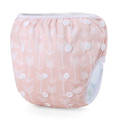 storeofbaby wiederverwendbare Schwimmwindeln für Unisex Baby verstellbare Badehose 0-3 Jahre
